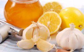 Чеснок, лимон и мед для иммунитета детей