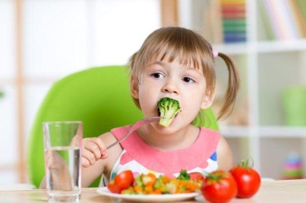 Полезная еда для детей