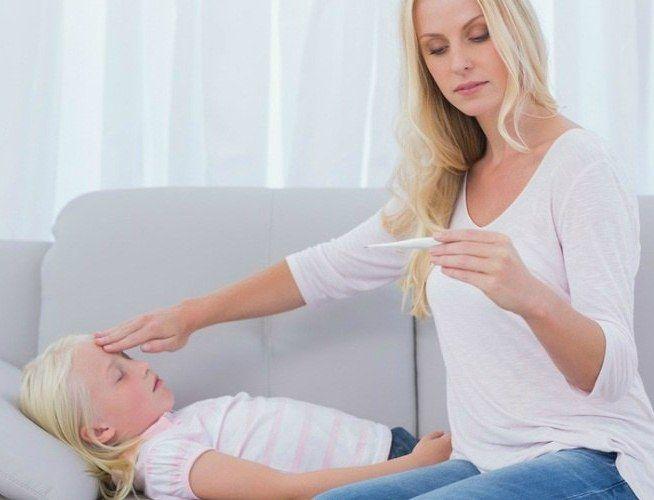 Чем сбить температуру у ребёнка в 4-5 лет?