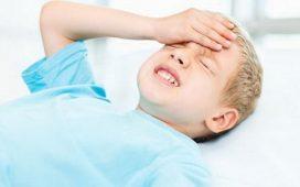 Температура при сотрясении мозга у ребенка